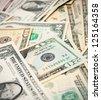 Dollars. Banknotes. - stock photo