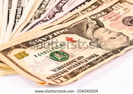 Dollars bils - stock photo