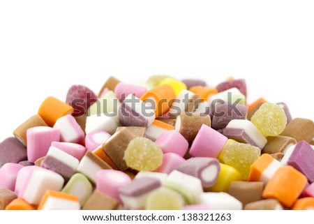 Dolly Mixture (Mixed Candies) - Shallow Depth of Field