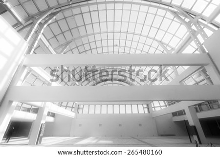 dome landscape in a large stores on november 16, 2013, tangshan city, hebei province, China.
