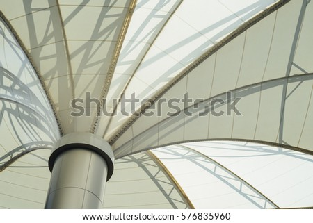 Dome roof texture structure ceiling, background