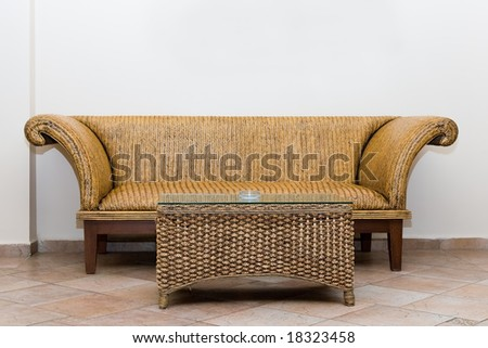 Domestic interior with wum furniture