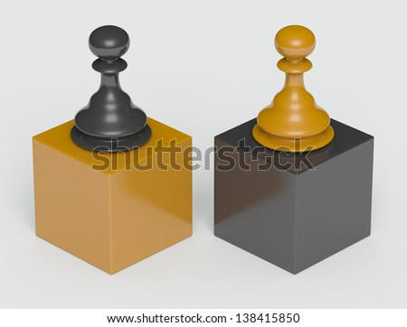 Dominance - stock photo