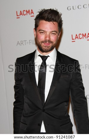 Dominic Cooper at the LACMA Art + Film Gala Honoring Clint Eastwood and John Baldessari, LACMA, Los Angeles, CA 11-05-11