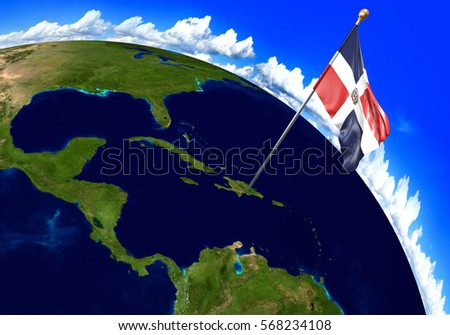 Dominican Republic Map Stock Images RoyaltyFree Images Vectors - Map of dominican republic world