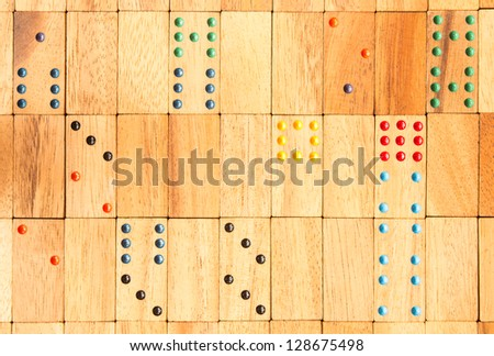 domino pattern background