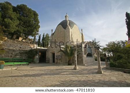 Dominus Flevit Church, Jerusalem - stock photo