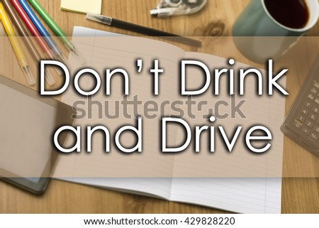 drink drive message stock photos royalty free images. Black Bedroom Furniture Sets. Home Design Ideas