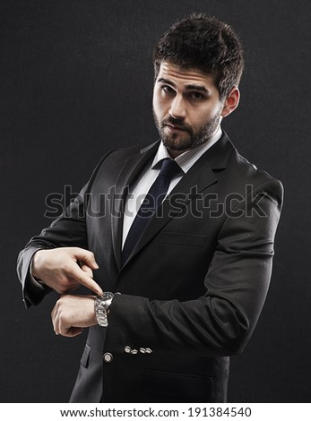 Don't waste my time - stock photo