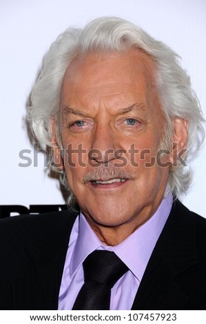 Donald Sutherland  at the 'Dirty Sexy Money' Season 1 DVD Launch Party. Edison Downtown, Los Angeles, CA. 09-08-08