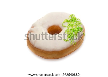 Donut, Sweet Food, Unhealthy Eating.