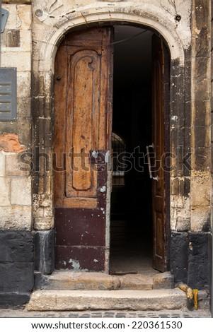 door8 - stock photo