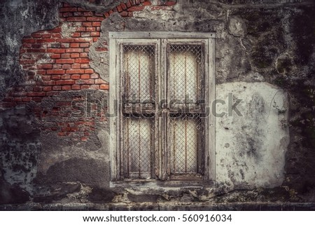 door and window are closed