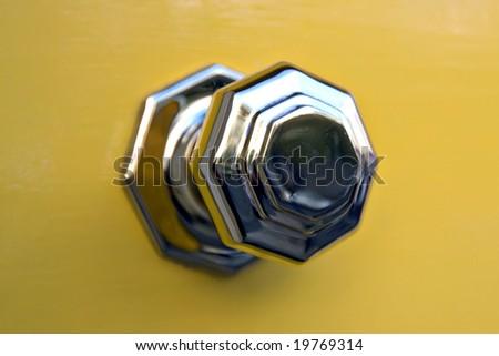 Door knob - stock photo