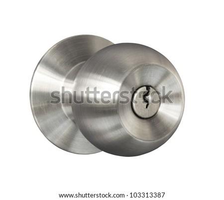 door knob. door knob isolated on white background