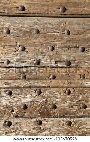 door locks keys Tuscan medieval towns - stock photo
