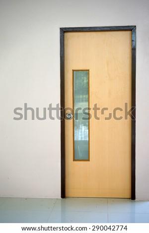 Office door stock photos images pictures shutterstock for Office doors with windows