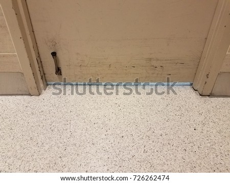 door with scuff marks and kickstand and white floor & Kickstand Stock Images Royalty-Free Images u0026 Vectors | Shutterstock pezcame.com