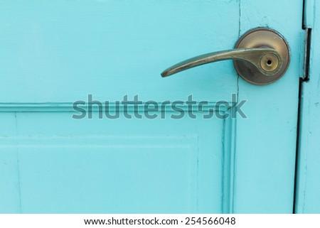 Doorknob - stock photo