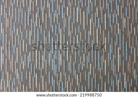 Doormat stripes, carpet texture - stock photo