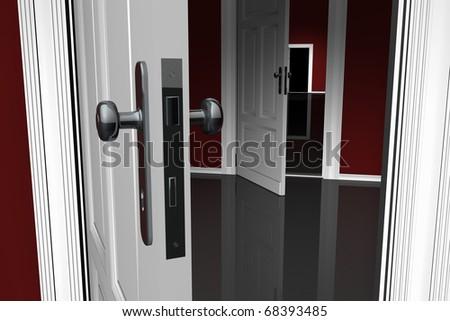 Doors - stock photo