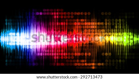 Dot background. Illustration. dark blue red orange green lights motion blur Abstract Background. wave. infographics.