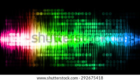Dot background. Illustration. dark green blue pink red lights motion blur Abstract Background. wave. infographics.