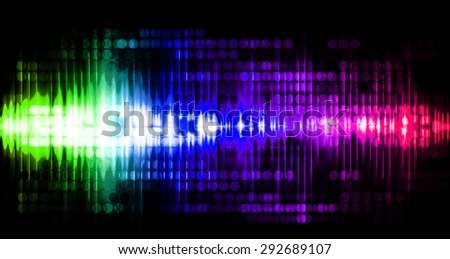 Dot background. Illustration. dark green blue purple pink lights motion blur Abstract Background. wave. infographics.