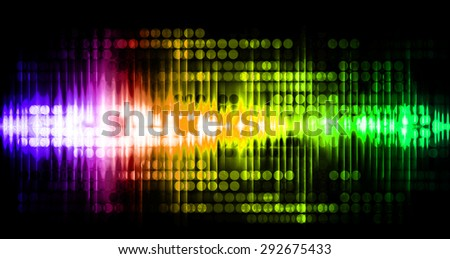 Dot background. Illustration. dark green yellow pink purple red lights motion blur Abstract Background. wave. infographics.