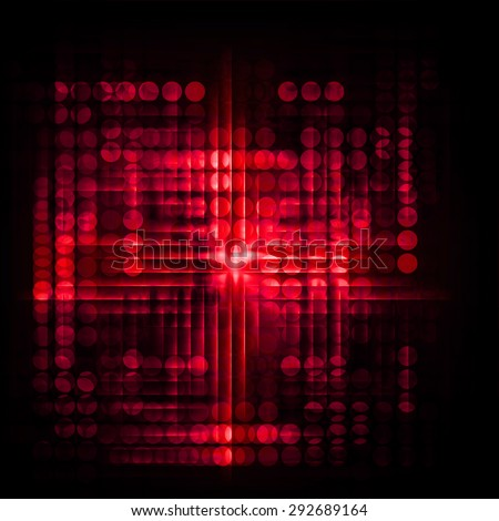 Dot background. Illustration. dark red lights motion blur Abstract Background. wave. infographics. - stock photo