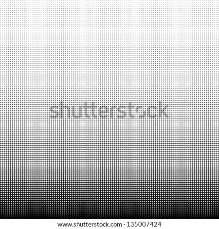 Dotted halftone pattern background - stock photo