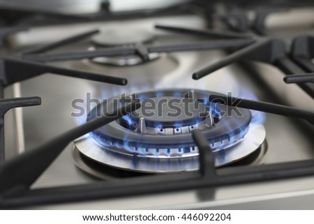 Double Ring Gas Flame - Gas Hob - Stainless Steel