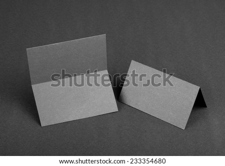 Cubes stock photo 598208906 shutterstock for Double sided place card template