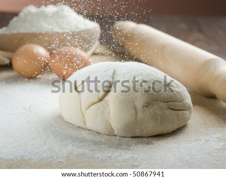 Dough for Baking - stock photo