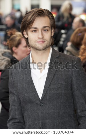 Douglas Booth arriving for the The Prince's Trust Celebrate Success Awards 2013 at the Odeon Leicester Square, London. 26/03/2013 Picture by: Simon Burchell