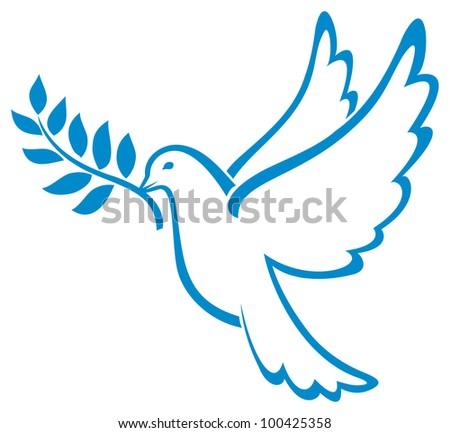 Dove of Peace - stock photo