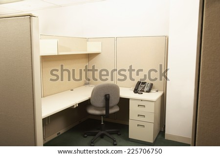 Down Sizing at the Office - stock photo