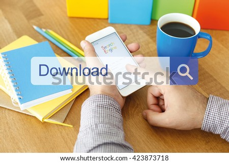 Download Concept - stock photo