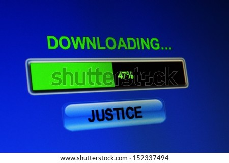Download justice - stock photo