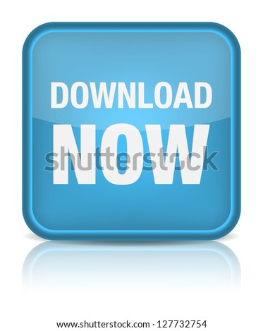 Download now button. - stock photo