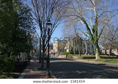 Downtown - stock photo