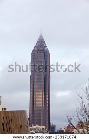Downtown Atlanta, Georgia - stock photo
