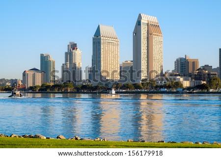 Downtown City of San Diego, California USA  - stock photo