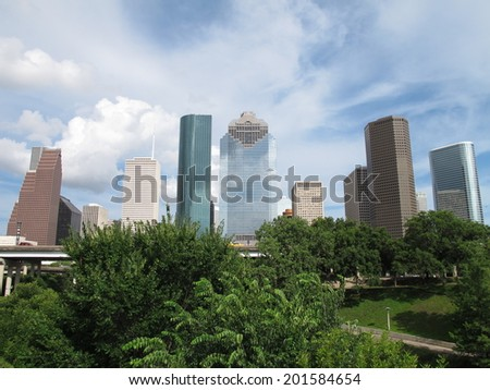 Downtown Houston, Texas, USA