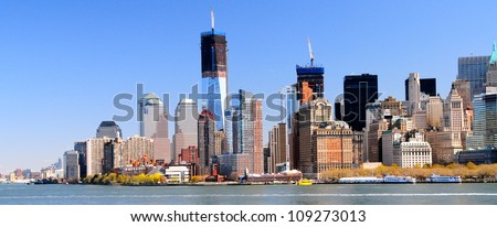 Downtown Manhattan & Freedom Tower, New York