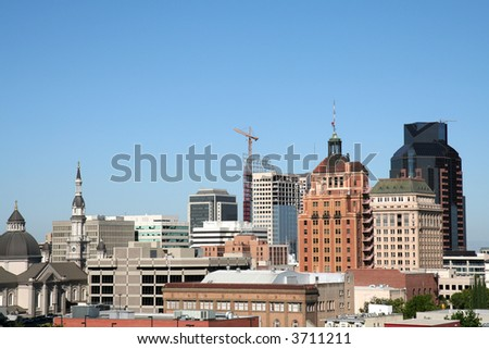 Downtown Sacramento - stock photo