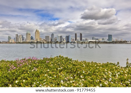 Downtown San Diego as seen from Coronado