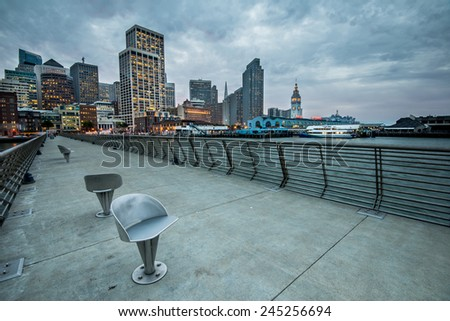 Downtown San Francisco  - stock photo