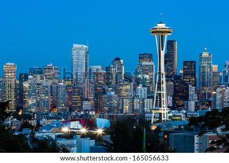 Downtown Seattle, Washington State