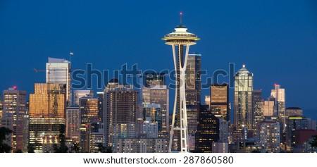 Downtown Seattle, Washington State - stock photo